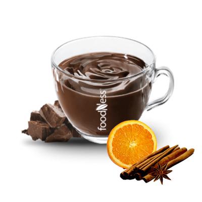Čokoláda FOODNESS Pomaranč a škorica 15x30g