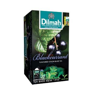 Čaj Dilmah Blackcurrant 20x2g