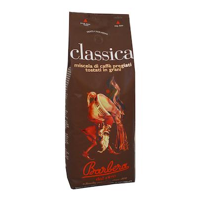 Barbera Caffe Classica zrnková káva 1kg