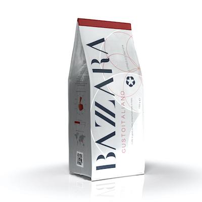 Bazzara Gustoitaliano zrnková káva 1kg
