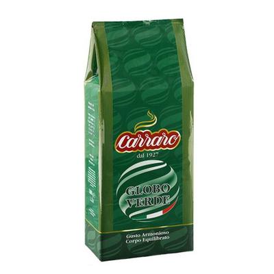 Carraro Globo Verde zrnková káva 1kg