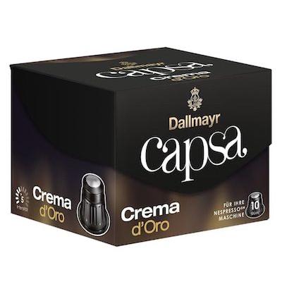 Dallmayr Capsa Crema d'Oro kapsule Nespresso 10ks
