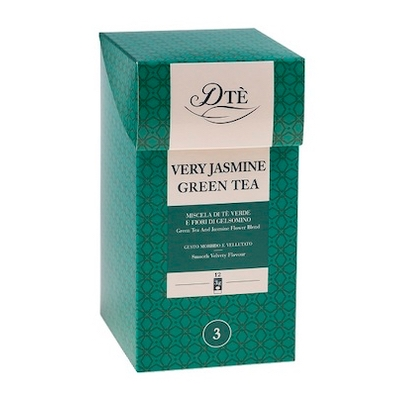 Čaj Diemme Very Jasmine Green Tea 12x3g