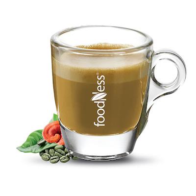Foodness Zelená káva s ganodermou