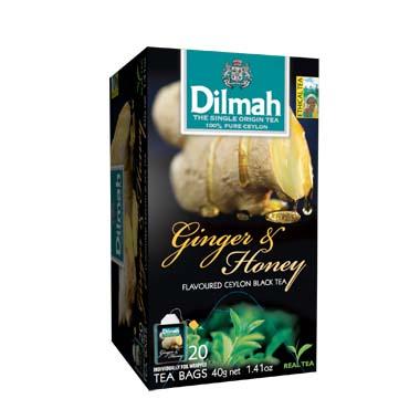 Čaj Dilmah Ginger Honey 20x2g