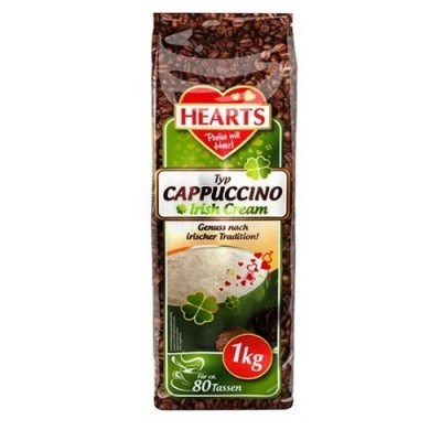 Hearts Cappuccino Irish Cream 1kg