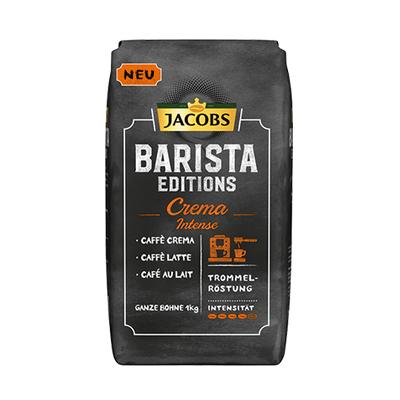 Jacobs Barista Crema INTENSE zrnková káva 1kg