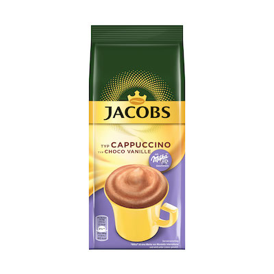 Jacobs Cappuccino Milka Choco Vanille 500g