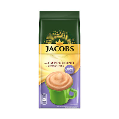 Jacobs Cappuccino Milka Choco Nuss 500g
