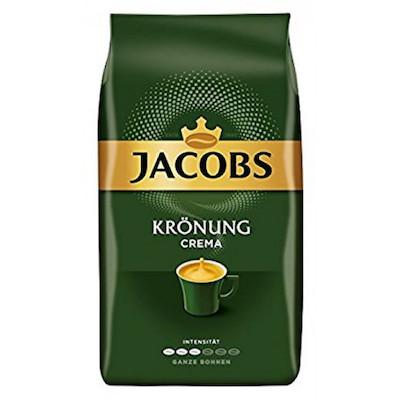 Jacobs Kronung Caffe Crema zrnková káva 1kg