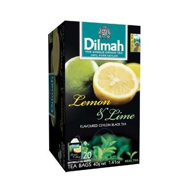 Čaj Dilmah Lemon Lime 20x2g