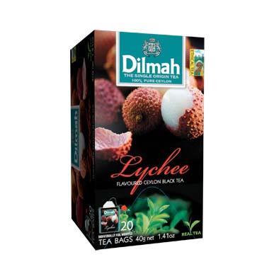 Čaj Dilmah Lychee 20x2g