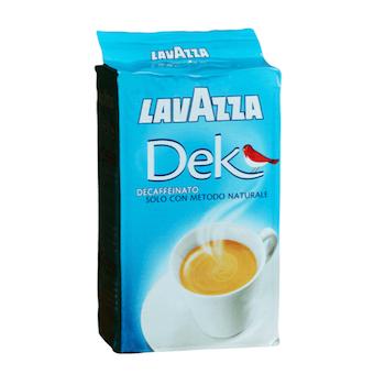 Lavazza Dek bezkofeínová mletá káva 250g