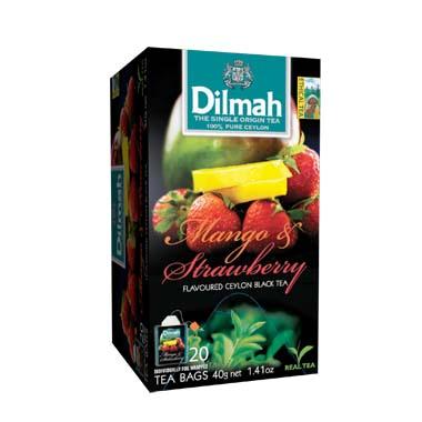 Čaj Dilmah Mango Strawberry 20x2g