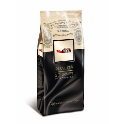 Molinari Qualita Gourmet zrnková káva 1kg