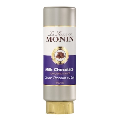 Monin Milk Chocolate Sauce 0,5l