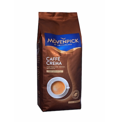Mövenpick Caffe Crema zrnková káva 1kg