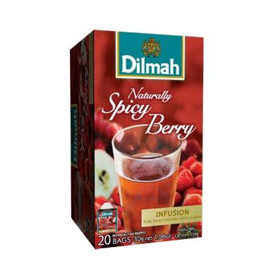 Čaj Dilmah Naturally Spicy Berry 20x1,5g