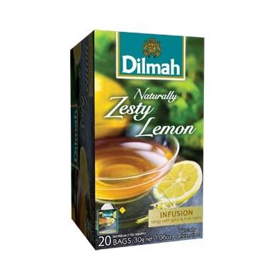 Čaj Dilmah Naturally Zesty Lemon 20x1,5g