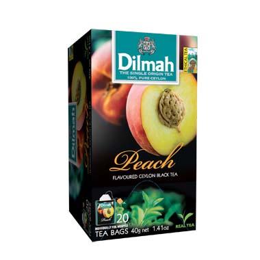 Čaj Dilmah Peach 20x2g