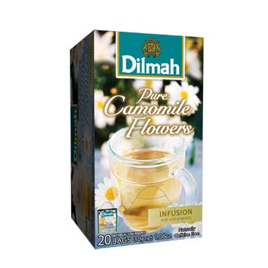 Čaj Dilmah Pure Camomile Flowers 20x1,5g