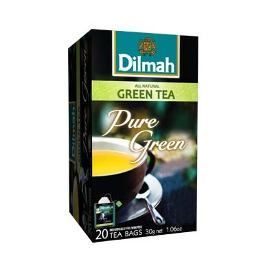 Čaj Dilmah Pure Green Tea 20x1,5g