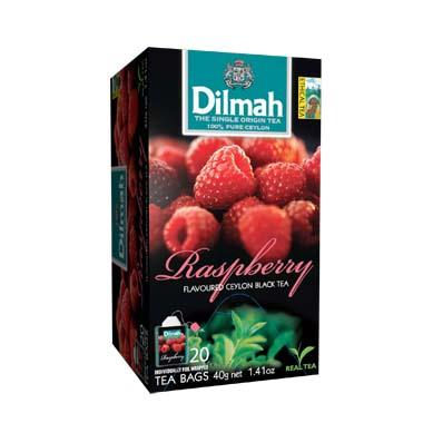 Čaj Dilmah Raspberry 20x2g