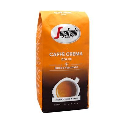 Segafredo Caffe Crema Dolce zrnková káva 1kg
