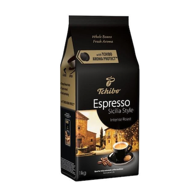 Tchibo Espresso Sicilia Style zrnková káva 1kg