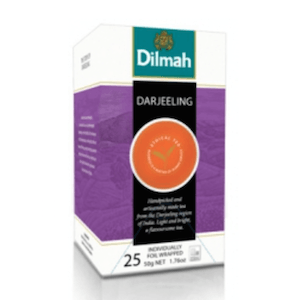 Čaj Dilmah Darjeeling 25x2g
